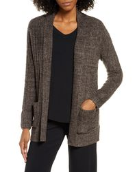 Barefoot Dreams Barefoot Dreams Cozychictm Lite Cable Knit Cardigan - Multicolor