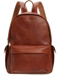 Brunello Cucinelli Leather Backpack - Brown