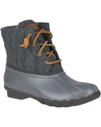 Sperry Top-Sider Saltwater Duck Boot - Gray