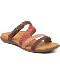 Aetrex Brielle Slide Sandal - Multicolor
