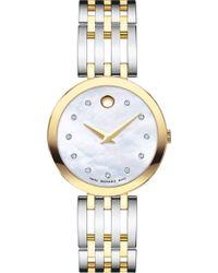 Movado Esperanza Diamond Bracelet Watch - Metallic