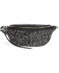 Rebecca Minkoff Bree Studded Leather Belt Bag - Black