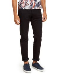 Ted Baker Straight Fit Jeans - Black