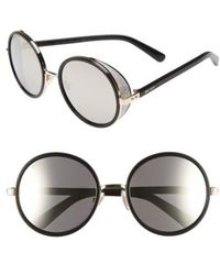 Jimmy Choo - 'andies' 54mm Round Sunglasses - Lyst