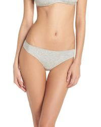 Madewell - Jersey Thong - Lyst