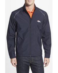 Cutter & Buck - 'denver Broncos - Beacon' Weathertec Wind & Water Resistant Jacket - Lyst