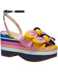 Kate Spade - Julep Platform Sandal - Lyst