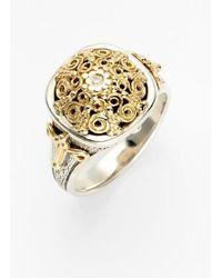 Konstantino | 'classics' Two-tone Diamond Ring | Lyst