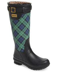 PENDLETON BOOT - Pendleton Heritage Black Watch Tartan Tall Boot - Lyst