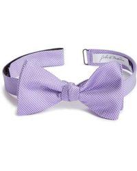 John W. Nordstrom   John W. Nordstrom Dot Silk Bow Tie   Lyst
