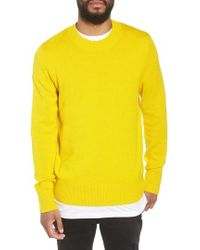 The Rail - Crewneck Sweater - Lyst
