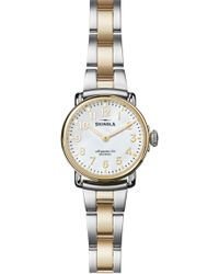 Shinola - Runwell Bracelet Watch - Lyst