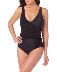 083d3bd31f0fb Lyst - Miraclesuit Scandalous One-piece Swimsuit in Black