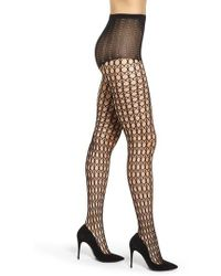 Pretty Polly - Circle Net Tights - Lyst