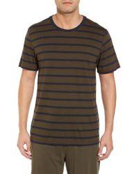 Daniel Buchler - Peruvian Pima Cotton Stripe T-shirt - Lyst