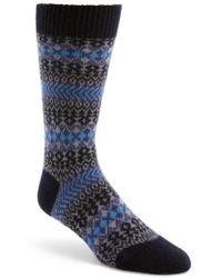 Pantherella - Fair Isle Cashmere Socks - Lyst