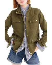 J.Crew - Uncoated Downtown Field Jacket - Lyst
