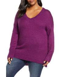 Caslon - Caslon V-neck Sweater - Lyst