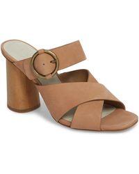 1.STATE - Icendra Flared Heel Mule Sandal - Lyst