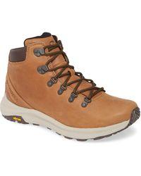 Merrell Ontario Mid Hiking Shoe - Brown