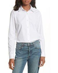 Kule - The Hutton Cotton Poplin Shirt - Lyst