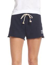 Sol Angeles Essential Shorts - Blue