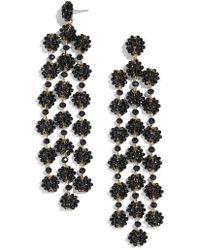 BaubleBar - Shiori Beaded Chandelier Earrings - Lyst