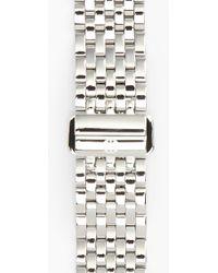 Michele 'Serein 16' 16Mm Bracelet Watchband - Metallic