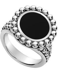Lagos Maya Circle Ring - Metallic
