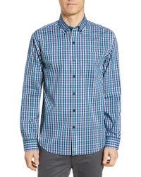 Cutter & Buck - Anchor Classic Fit Check Sport Shirt - Lyst