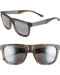 Maui Jim - Talk Story 55mm Polarized Sunglasses - Stormy Grey/ Neutral Grey - Lyst