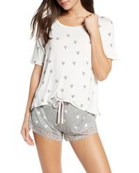 Honeydew Intimates Something Sweet Short Pajamas - Gray