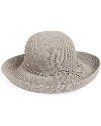 Helen Kaminski - 'provence 12' Packable Raffia Hat - Lyst