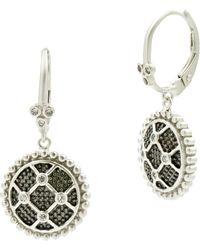 Freida Rothman - Industrial Finish Earrings - Lyst