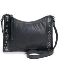 Frye - Melissa Concho Studded Leather Crossbody Bag - - Lyst