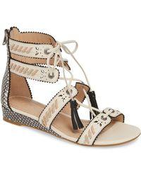 3508218dab8 Lyst - Women s COACH Flat sandals Online Sale
