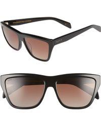 f4b68feff1 DIFF - Harper 57mm Polarized Gradient Sunglasses - Lyst