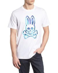Psycho Bunny - Logo Graphic T-shirt - Lyst