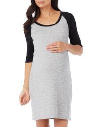 Rosie Pope - 'derek' Raglan Sleeve Maternity Dress - Lyst