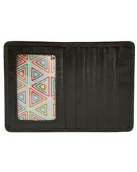 Hobo - 'euro Slide' Credit Card & Passport Case - - Lyst