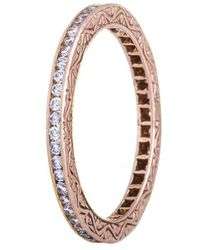 Sethi Couture - Channel Set Diamond Ring - Lyst