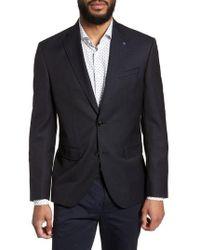 Ted Baker - Roger Extra Slim Fit Print Wool Sport Coat - Lyst