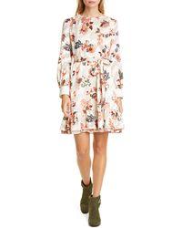 Tory Burch - Burnout Floral Paisley Dress - Lyst