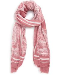 Sole Society - Paisley Scarf - Lyst