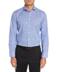 Calibrate - Extra Trim Fit Non-iron Dress Shirt - Lyst