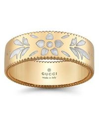 Gucci - Icon Band Ring - Lyst