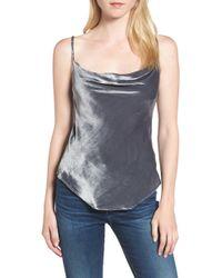 AG Jeans - Gia Velvet Camisole - Lyst