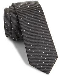 The Kooples - Dot Silk Skinny Tie - Lyst