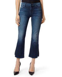 J Brand - Selena Crop Bootcut Jeans - Lyst