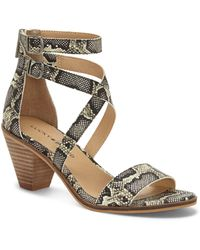 Lucky Brand Ressia Double Ankle Strap Sandal - Multicolor
